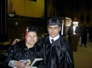 Tim and I Grad