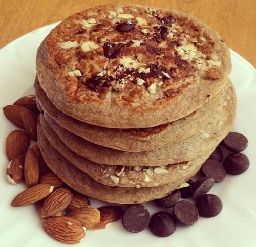 chocolate:almonds